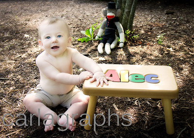 alec with his bench-
