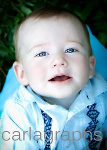 Alec in Blue-