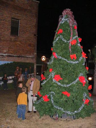 Live Oak Lights event in downtown Live Oak