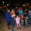 Live Oak Lights event in downtown Live Oak