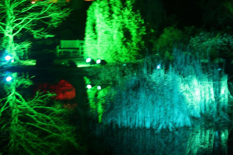 The illuminated Lake-Ness