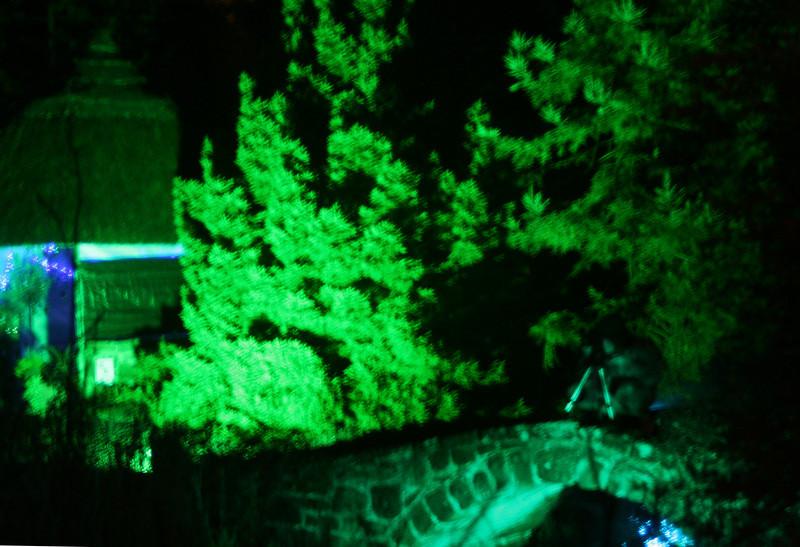 The Illuminated Bridge-Ness