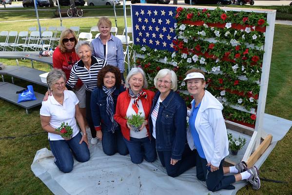 Living Flag by Celebration Garden Club