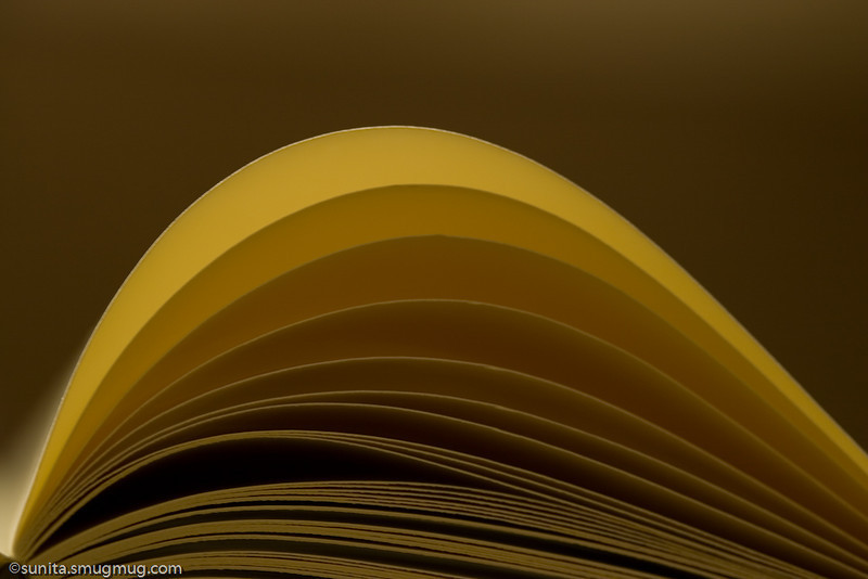 Pages out of a book...
