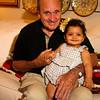 With Grandpa Joe