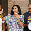 Don Knight/The Herald Bulletin<br /> Dana Wilkerson speaks during the rally.