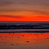 Fire in the Sky<br /> Aptos, CA, thirty minutes after sunset.