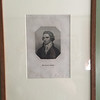 Morning Room: Mungo Park engraving.