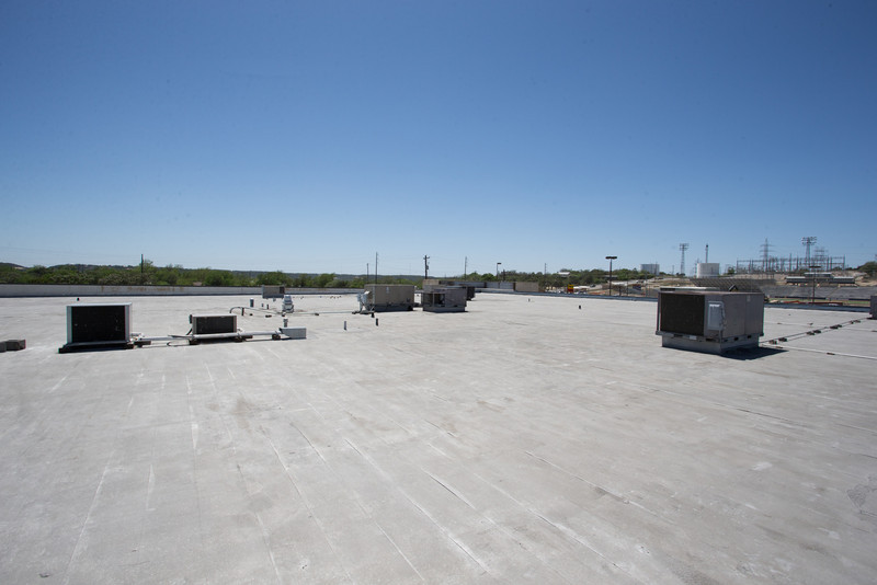 Roof from adjacent tenant space