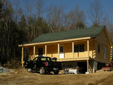 Nov 8, 2009    Cabin is now enclosed