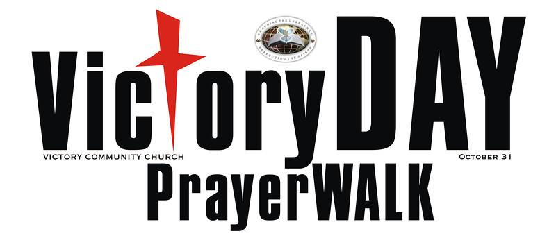 VCC T Shirt prayer walk cross red