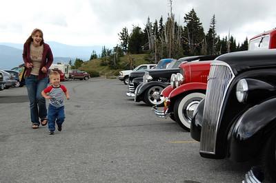 Cali and Loki with Cars!
