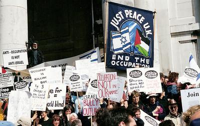 Netanyahu Rally, London 6 May 2002 6 SM