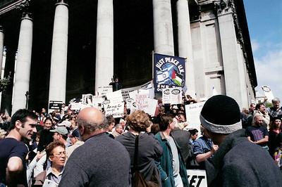 Netanyahu Rally, London 6 May 2002 4 SM