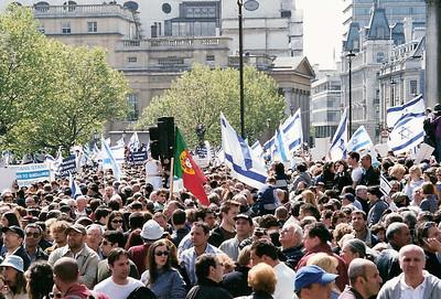 Netanyahu Rally, London 6 May 2002 10 SM