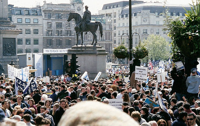 Netanyahu Rally, London 6 May 2002 12 SM