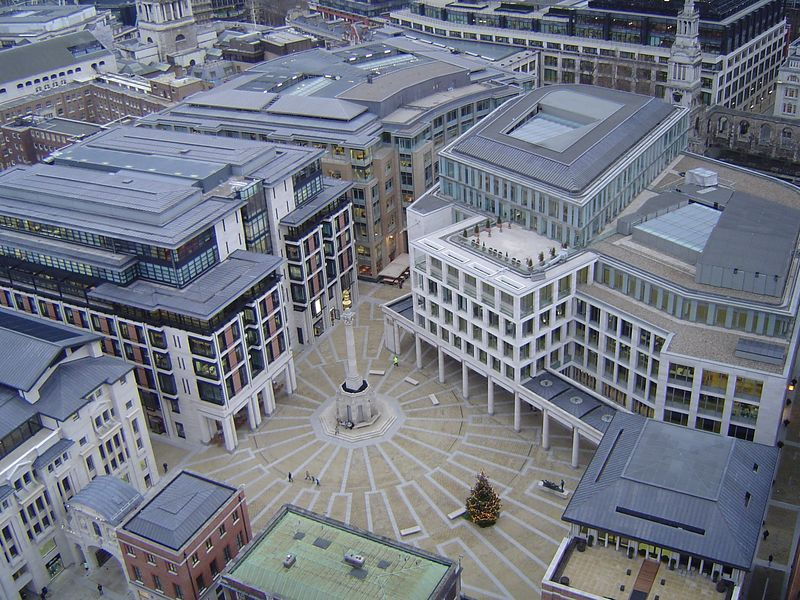 The view from the top of St. Paul's Cathedral