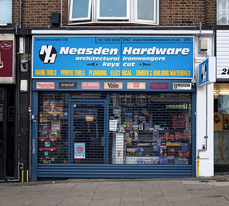 Neasden Lane, November