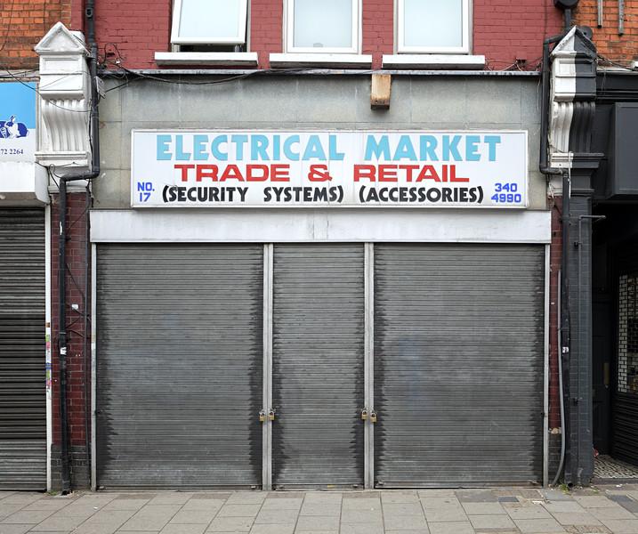 Tottenham Lane, August