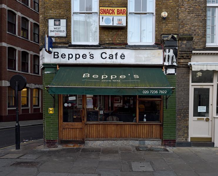 Beppe's Cafe, West Smithfield, 2016