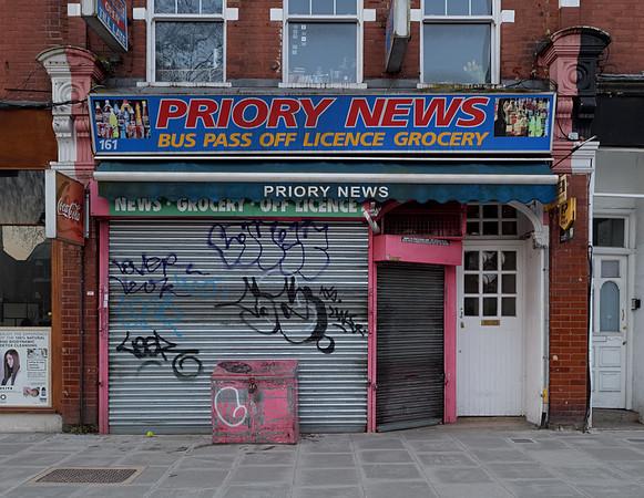 Priory Road, February