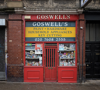 Goswell Road, December
