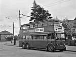 LT Trolleybus No. 1425, Tolworth, 6th May 1962