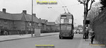 London Transport trolleybus No. 1146, Class K1, is working on route 657 near Busch Corner, London Road in Isleworth, heading for Hounslow from Shepherds Bush on Saturday 28th April 1962. This was almost at the point where this route and route 667 diverged, route 667 running from Hammersmith to Hampton Court. BWNeg44.
