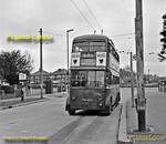 LT Trolleybus No. 1425, Route 601, Tolworth, 6th May 1962