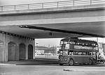 LT Trolleybus No. 1101, Chiswick, 28th April 1962