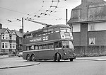 LT Trolleybus No. 1444, The Dittons, 6th May 1962