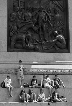 London in monochrome