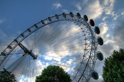London Eye HDR