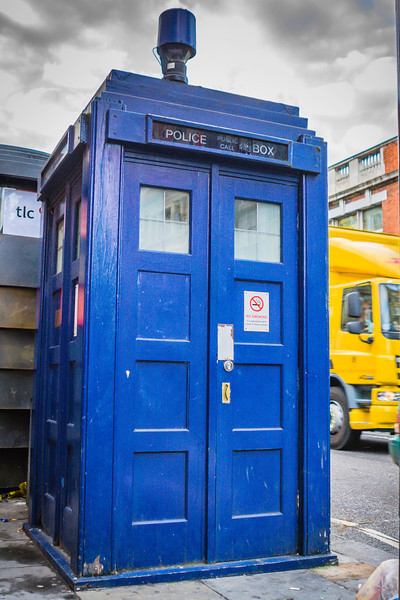 Tardis at Earl's Court