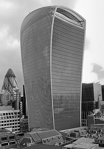 "20 Fenchurch Street.  The ""Walkie-Talkie"""
