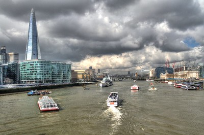 River Traffic from Tower Bridge