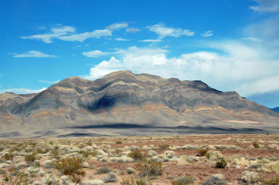 South of Amargosa Springs, Death Valley