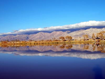 Lake Diaz outside Lone Pine, Ca.