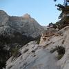My destination Lone Pine Peak comes into view.