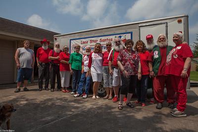Lone Star Santas Trip to West, Texas