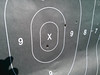 Granted, it is a Pistol Target, but I did put 1 in the 10 Ring and 1 in the X Ring at 100 yards.