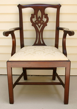 Henkel Harris Chippendale style arm chair This is the same chair we sold in the Ashborough East sale.