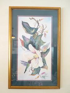 Signed Magnolia print
