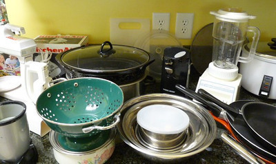 Pots, pans, utensils and more!