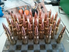 30 Rounds of .308 for Shin's next trip out.<br /> <br /> 168 grain Hornady Match bullets on top of Varget Smokeless Powder. He uses Norma Brass.<br /> <br /> I do like the deadly look of this ammo...