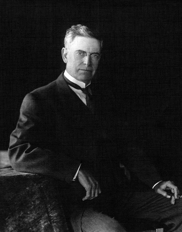 . Frederick Eaton was Mayor of Los Angeles from 1898-1900.   (DWP)