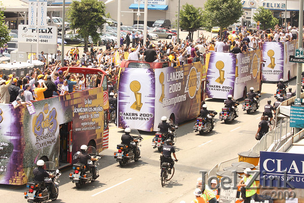 Los Angeles Lakers 2009 Championship Parade
