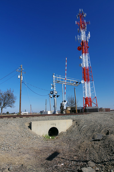 Cell Tower, Johnson Rd & W H St