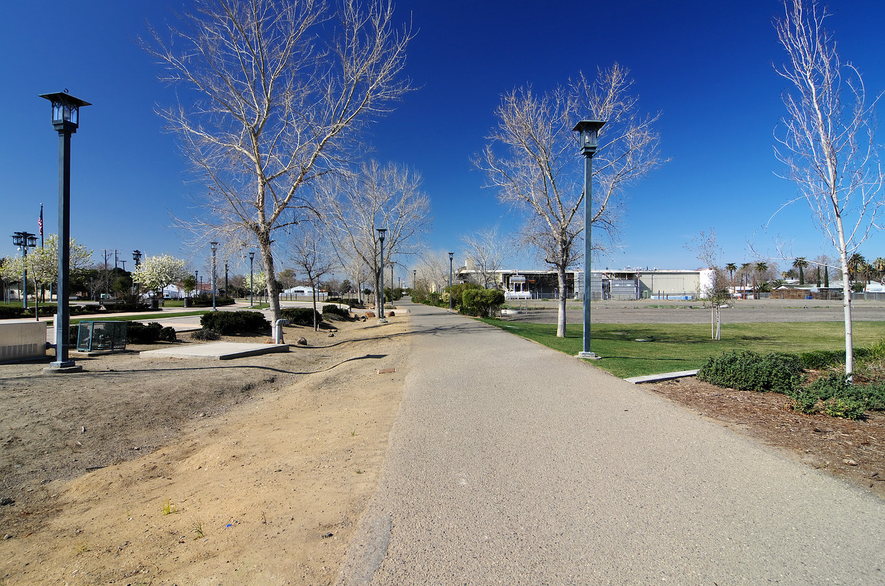 RAIL Trail, near Henry Miller Plaza