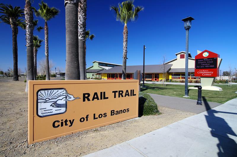 RAIL TRAIL, City of Los Banos